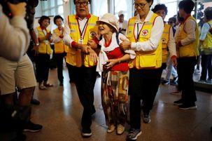 دیدار تاریخی خانواده های کره ای بعد از 65 سال / اشک ها و لبخندها + تصاویر