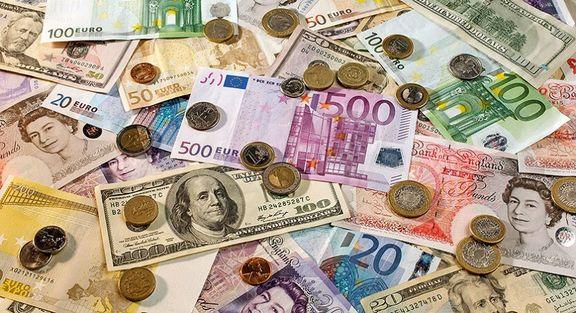 نرخ رسمی ۲۴ ارز کاهش و ۱۳ ارز افزایش یافت