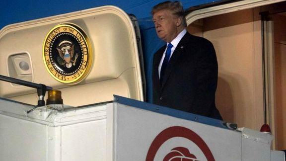 دونالد ترامپ هم اکنون وارد سنگاپور شد