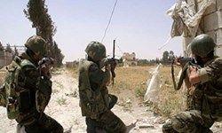 درگیری شدید نیروهای سوریه و داعش در منطقه البوکمال