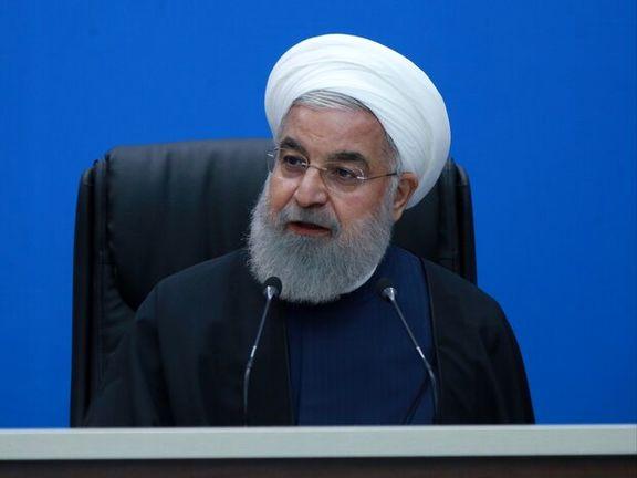 روحانی:اقدامات ظالمانه آمریکا جنگ عادی و تحریم نیست/ تحریم دارویی و غذایی نشان دهنده جنایت علیه بشریت است