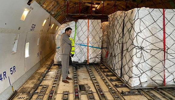 ورود محموله ۶۰ تنی تجهیزات ساخت واکسن کرونا به کشور
