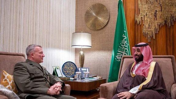 مکنزی و بن سلمان در ریاض با یکدیگر دیدار کردند/ موضوع مورد بحث مبارزه با تروریسم و افراط گرایی است