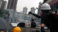درگیریها در تظاهرات هنگ کنگ 25 نفر را راهی بیمارستان کرد