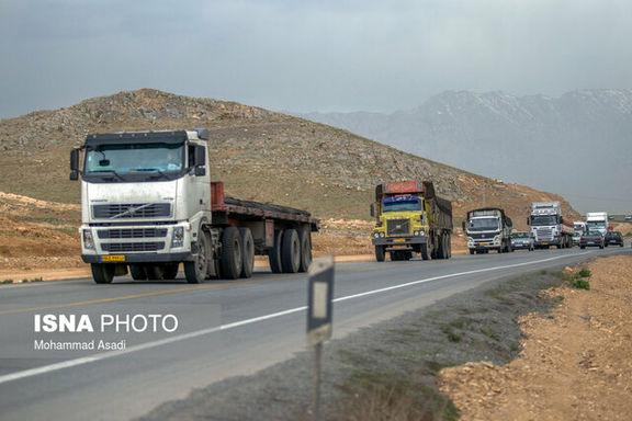 کامیون های متخلف با برخورد پلیس راهنمایی و راننندگی مواجه خواهند شد