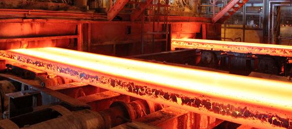 ایران در جایگاه دهم تولید فولاد جهان
