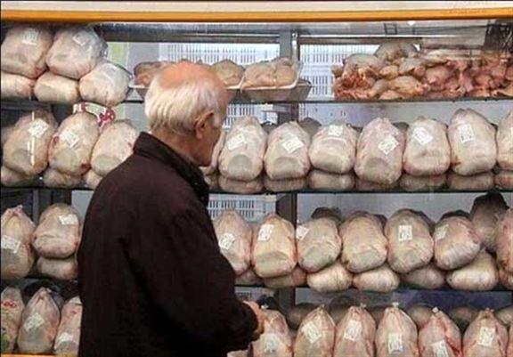 مرغ در بازار دونرخی شده است