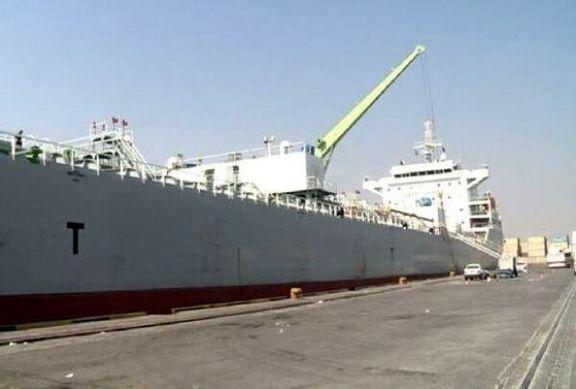 دو کشتی حامل روغن خوراکی در بندر شهید رجایی پهلو گرفتند/ پنج کشتی دیگر در راه است