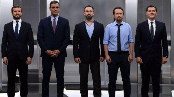 چهارمین انتخابات متوالی در اسپانیا برگزار میشود