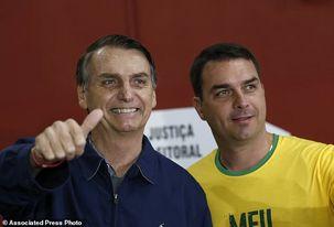 فساد مالی در خانواده بولسونارو / انتقال پول های مشکوک به حساب پسر و همسر رئیس جمهور جدید برزیل