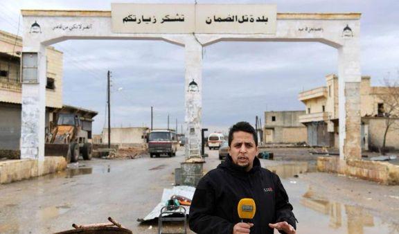یک خبرنگار صدا و سیما در سوریه زخمی شد