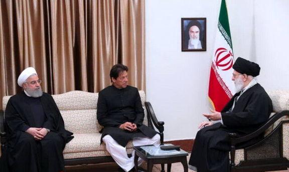 رهبر انقلاب:  اهداف حرکتهای ضدامنیتی در مرزهای ایران و پاکستان آلوده کردن روابط دو کشور است/ روابط دو کشور برغم دشمنیها باید هر چه بیشتر مستحکم شود