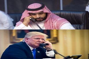 دومین گفتگوی تلفنی ترامپ با بن سلمان درباره ناپدید شدن جمال خاشقجی