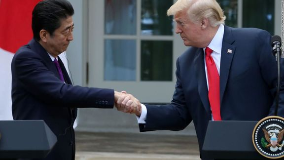 دونالد ترامپ وارد توکیو شد / گفتگوهای تجاری محور اصلی مذاکرات