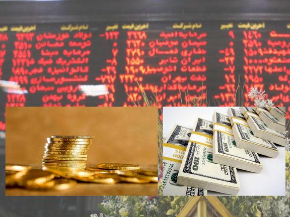 بورس، سکه و دلار، کدام یک بیشترین بازدهی را داشتند؟
