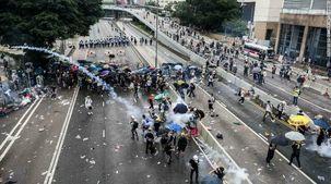 انگلیس حق دخالت در امور هنگ کنگ ندارد