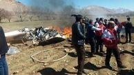 اسامی شهدای حادثه سقوط بالگرد در استان چهارمحال و بختیاری