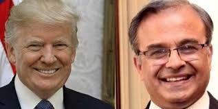 دیدار ترامپ با سفیر جدید پاکستان