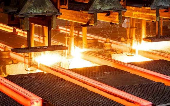 تولید فولاد ایران در 10 ماه سال جاری 12.6 درصد افزایش یافت