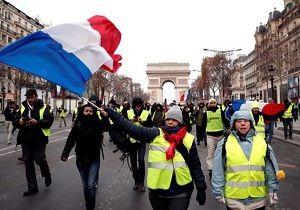 آغاز سیزدهمین شنبه  اعتراضات جلیقه زرد ها در فرانسه