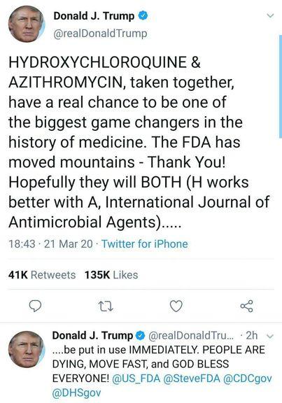 نسخه پزشکی جدید توسط دکتر ترامپ!