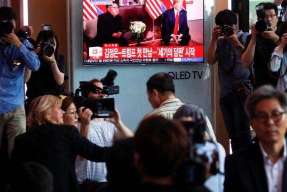 هیچ خبرنگاری از کره شمالی در نشست ترامپ و اون نبوده است