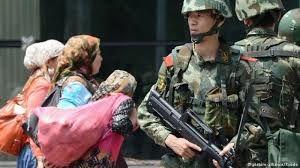 چین درحال متوقف کردن مسلمانان در پکن است