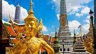 مجسمه بودای غولپیکر شهر بانکوک (تایلند) هم ماسکپوش شد