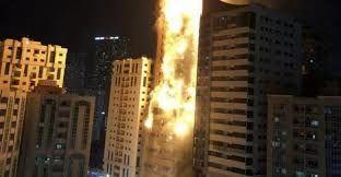 دلیل آتش سوزی در برج مسکونی در شارجه امارات مشخص شد