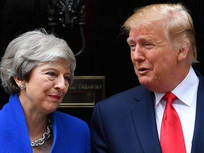 ترامپ:آمریکا و انگلیس می خواهند اطمینان حاصل کنند ایران به سلاح هستهای دست پیدا نکند