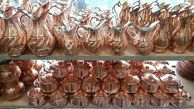 قیمت انواع ظروف مسی  ایرانی در بازار
