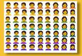 53 ایموجی بدون جنسیت به فهرست ایموجیهای سیستم عامل اندروید Q اضافه شد