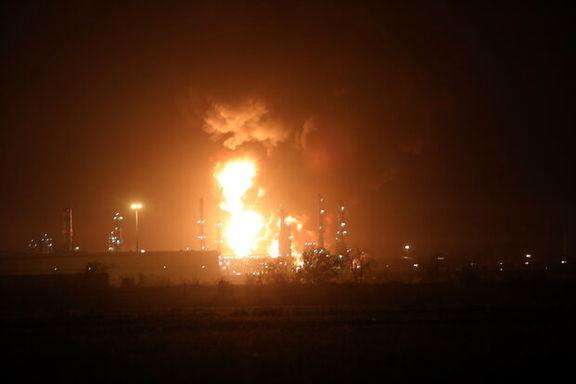 حجم آتش در پالایشگاه تهران به ۵ درصد رسید