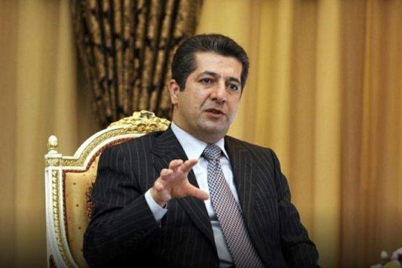 مسرور بارزانی نسبت به انتخاب علاوی به عنوان نخستوزیر واکنش نشان داد