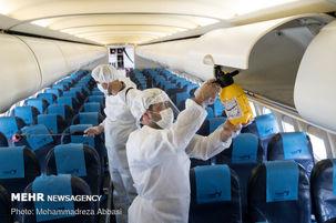 فروش بلیت هواپیما کمتر از ظرفیت موجود به دلیل شیوع کرونا
