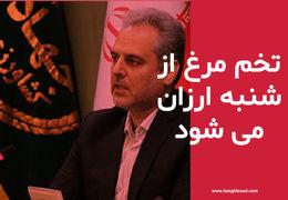 وزیر جهاد کشاورزی: تخم مرغ ارزان از شنبه وارد بازار میشود