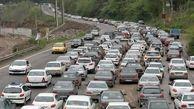 ترافیک پرحجم در هراز و کندوان برفی است