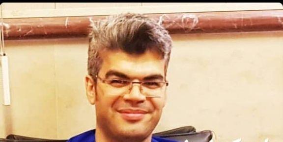 محسن خادم کادر درمانی کاشان بر اثر کرونا درگذشت