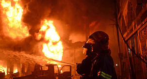 کشته شدن سه کارگر در آتشسوزی کارگاه ضایعاتی کهریزک