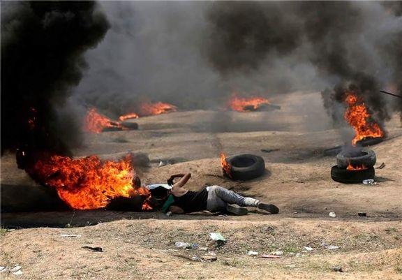 شهادت دو فلسطینی در نوار غزه در جریان اعتراضات به انتقال سفارت آمریکا به قدس