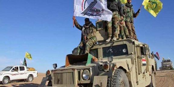 حمله به دو خودروی الحشد الشعبی در نزدیکی مرز سوریه و عراق/   6 نفر شهادت رسید