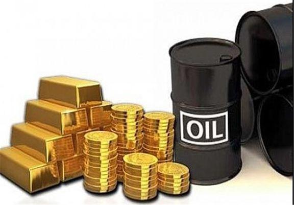 نفت صعود کرد / طلا سقوط کرد