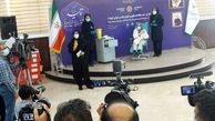 مینو محرز نخستین داوطلب دریافت مرحله سوم تست انسانی واکسن کووایرانبرکت