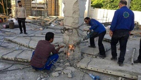 شهردار منطقه یک تهران ساخت و ساز برای حسن روحانی در منطقه جماران را تکذیب شد