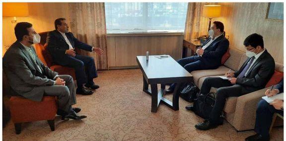 مذاکرهکننده چین در برجام با سخنگوی وزارت خارجه ایران دیدار کرد