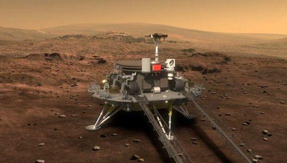 فرود مریخنورد چین روی سطح مریخ تا ساعاتی دیگر