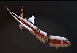 هواپیمای دیگری در تگزاس سقوط کرد +فیلم