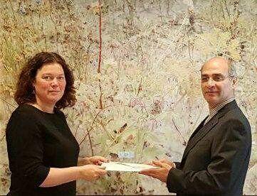 سفیر ایران در هلند استوارنامه خود را تقدیم کرد