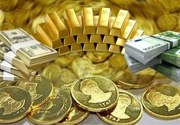 قیمت هر سکه به 4 میلیون و 490 هزار تومان رسید / هر یورو 14 هزار و 950 تومان