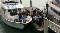 بلیت شناورها در دریای جنوب برای گردشگران 20 هزار تومان اعلام شد